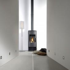 Двухконтурный дымоход из стали для газового камина