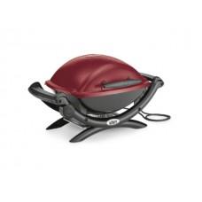 Электрический гриль WEBER Q 1400, темно-красный