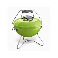 Угольный гриль WEBER Smokey Joe Premium 37 см, ярко-зеленый